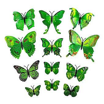 12th Yellow Decorative 3D Butterflies in Paper for Walls