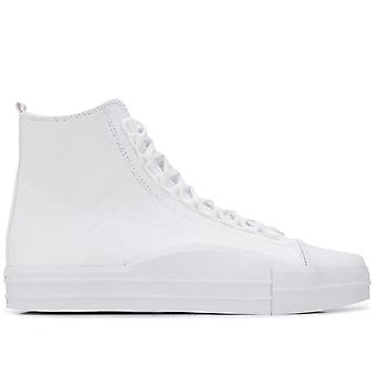 Yuben Mid Triple White Sneakers