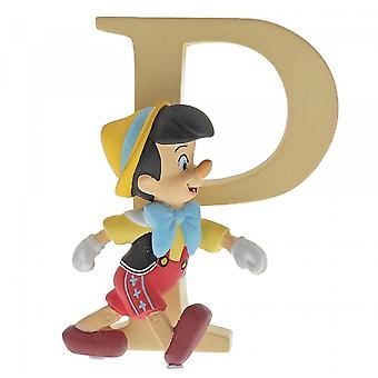 Disney Enchanting Collection Letter P - Pinocchio