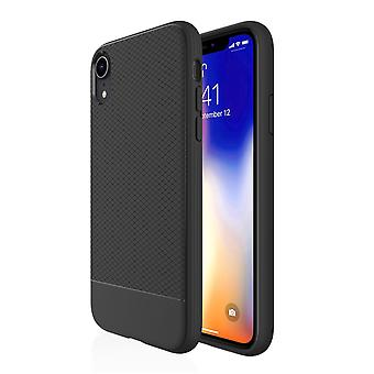 For iPhone XR Case, Black Snap Armor Shock Proof Slim Protective Phone Cover