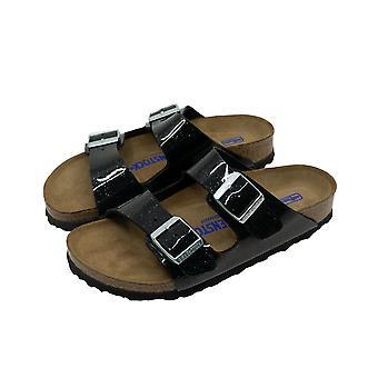 Birkenstock Arizona Women's Sandals Black Flip-Flops Summer Shoes