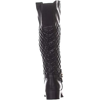 Charter Club Womens Helenn Wide Calf Almond Toe Mid-Calf Riding Boots