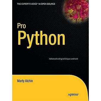 Pro Python by Alchin & Marty