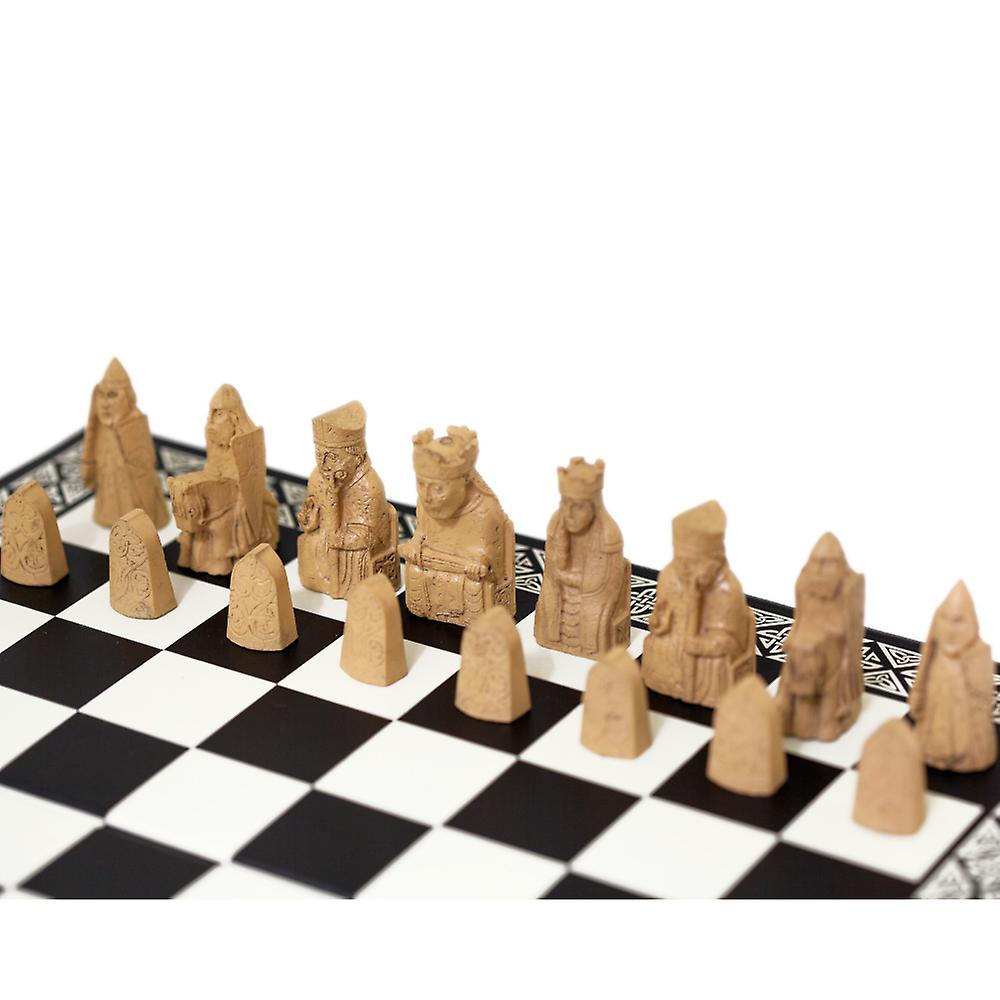 Miniature Isle of Lewis Chess Set by The British Museum