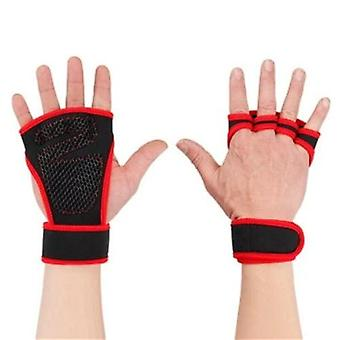 Weight Lifting Training Gloves Body Building Gymnastics Grips Hand Palm Protector 1 Pair