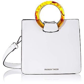 MARCO TOZZI 2-2-61016-24 clutch clutch type White Woman (White (WHITE 100)) 9x18x20 cm (B x H x T)