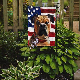 Perro de Presa Mallorquin American Flag Flag Garden Size