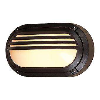 Firstlight Ecliptic Commercial Black Outdoor Bulkhead Oval Light