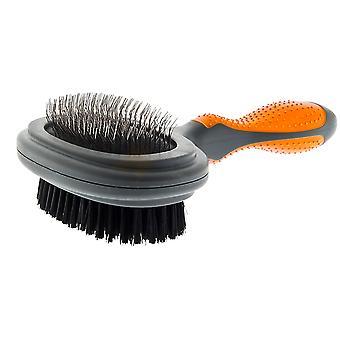 Ferribiella Double brush (Koirat , Grooming & Wellbeing , Harjat & Combs)