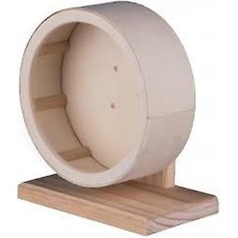 トリクシー木ホイール (小型のペットは、ケージ アクセサリの練習の車輪)