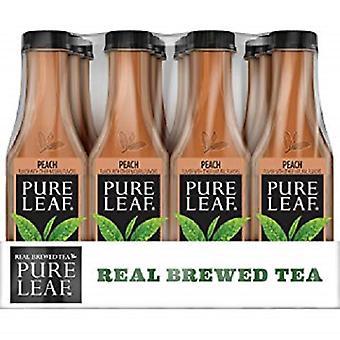 Lipton puro foglia tè pesca-( 547 Ml X 12 Bottiglie )