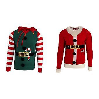 Tapfere Seele Mens Jingles Weihnachtspullover