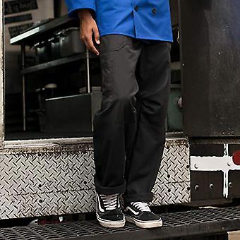 Threads peu communs Unisex Grunge Cargo Chef Pant, Noir, Grand