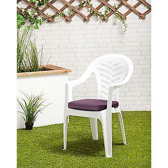 Gardenista Puutarha istuintyynyt   Resol Palma Outdoor Puheenjohtaja   Hypoallergeeninen korvaaminen Istuin tyynyt   Vedenkestävä kangas   Suuri ulkona   1 kpl (violetti)