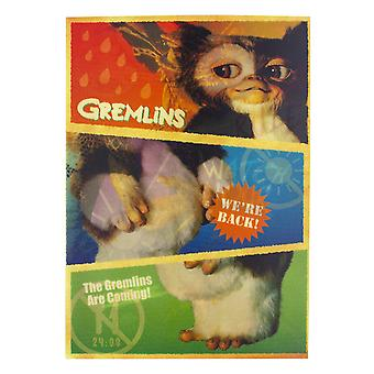The Gremlins - Gizmo Notebook - A5 200 Pages Lined Bound Jotter Note Pad 80s