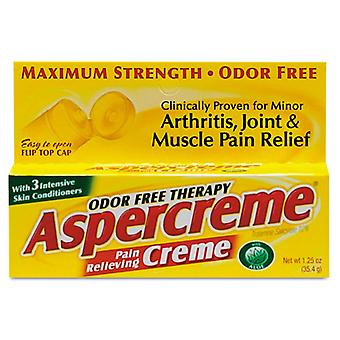 Aspercreme pain relieving creme, 1.25 oz