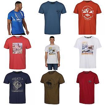 Regatta Mens Cline IV Graphic T-paita