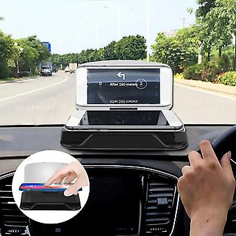 Universal qi wireless charge hd navigation head up display painel do painel do painel para celular