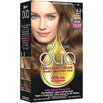 Garnier olia permanent hair colour, 6.3 light golden brown, 1 ea