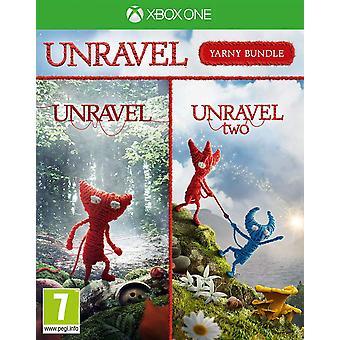Unravel Yarny Bundle Unravel 1 & 2 Xbox One-game