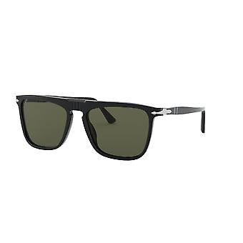 Persol PO3225S 95/58 Czarne/zielone spolaryzowane okulary przeciwsłoneczne