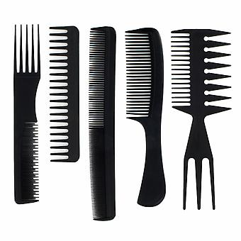 5 Piece Hair Comb Set, Detangle, Tease Hair Styling