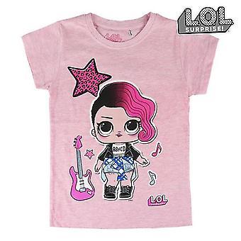 Child's Short Sleeve T-Shirt LOL Surprise! 74045 Pink
