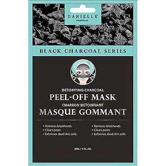 Danielle Black Charcoal Detoxifying Peel Off Mask