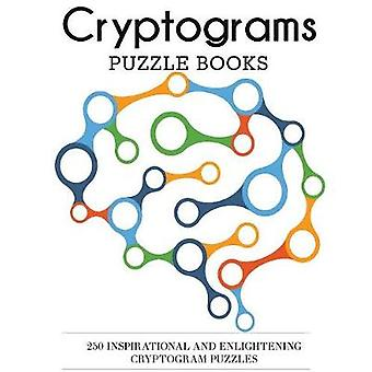 Cryptograms Puzzle Books 250 Inspirational and Enlightening Cryptogram Puzzles by DP Puzzles and Games