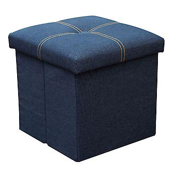 Household rectangular canvas storage stool