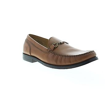 Tommy Bahama Maya Bay  Mens Brown Leather Casual Slip On Loafers Shoes