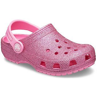 Crocs Classic Glitter Clog filles sandales