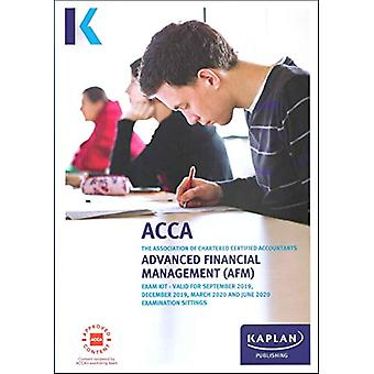 ADVANCED FINANCIAL MANAGEMENT - EXAM KIT by KAPLAN PUBLISHING - 97817