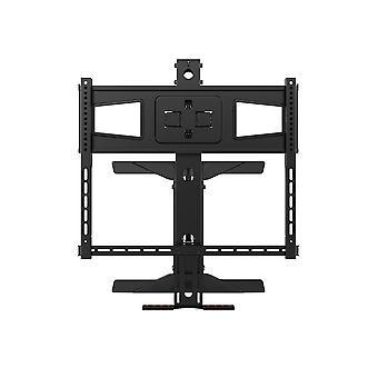 Über Kamin Höhe einstellbar Schwenktv Pull Down Mantel Wandhalterung für LCD LED Plasma Bildschirm Displays 40