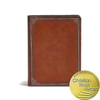 CSB Ancient Faith Study Bible - Tan LeatherTouch - Indexerad - 97815359