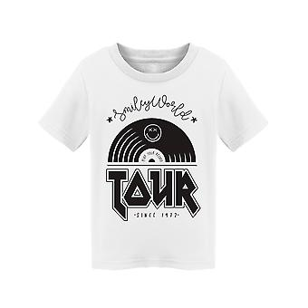 SmileyWorld Music Tour Disc Peuter's T-shirt