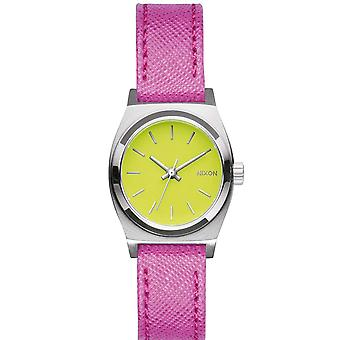 Nixon A509-2081 Ladies The Small Time Teller Watch - Rose