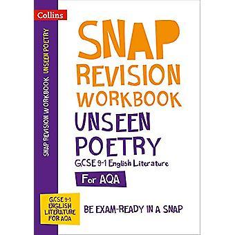 Unseen Poetry Workbook - New GCSE Grade 9-1 English Literature AQA (Co