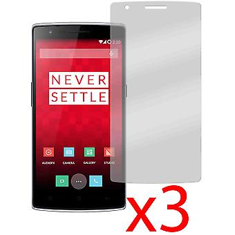 3x Anti-Glare Matte Screen Protector Cover for One Plus One