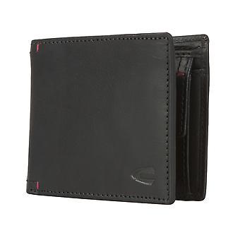 Camel active mens wallet wallet purse black 1721