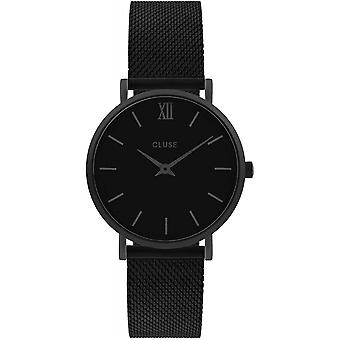Cluse CW0101203012 Minuit Mesh Black Wristwatch