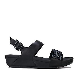 Women's Fit Flop Sparklie Crystal Sandals in Black