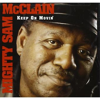 Mighty Sam McClain - Keep on Movin [CD] USA import