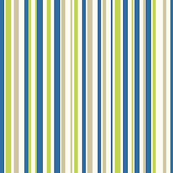 Arthouse Earn Your Stripes Striped Pattern Rainbow Childrens Blue Green Wallpaper