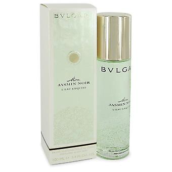 Mon Jasmin Noir L & eau Exquise Body Mist by Bvlgari 3.4 oz Body Mist