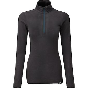 North Ridge Women's Convect-200 Merino Long Sleeve Top Navy