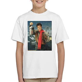 TV Times Cliff Richard Christmas Lantern 1990 Kid's T-Shirt