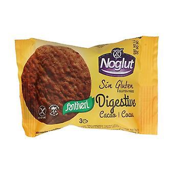 Gluten Free Noglut Digestive Cocoa Cookies 3 units