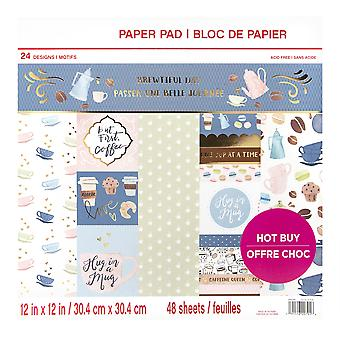 Craft Smith Brewtiful Day 12x12 Inch Paper Pad