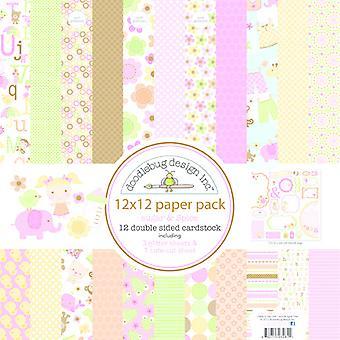 Doodlebug Design Cukier & Spice 12x12 calowy papierowy pakiet